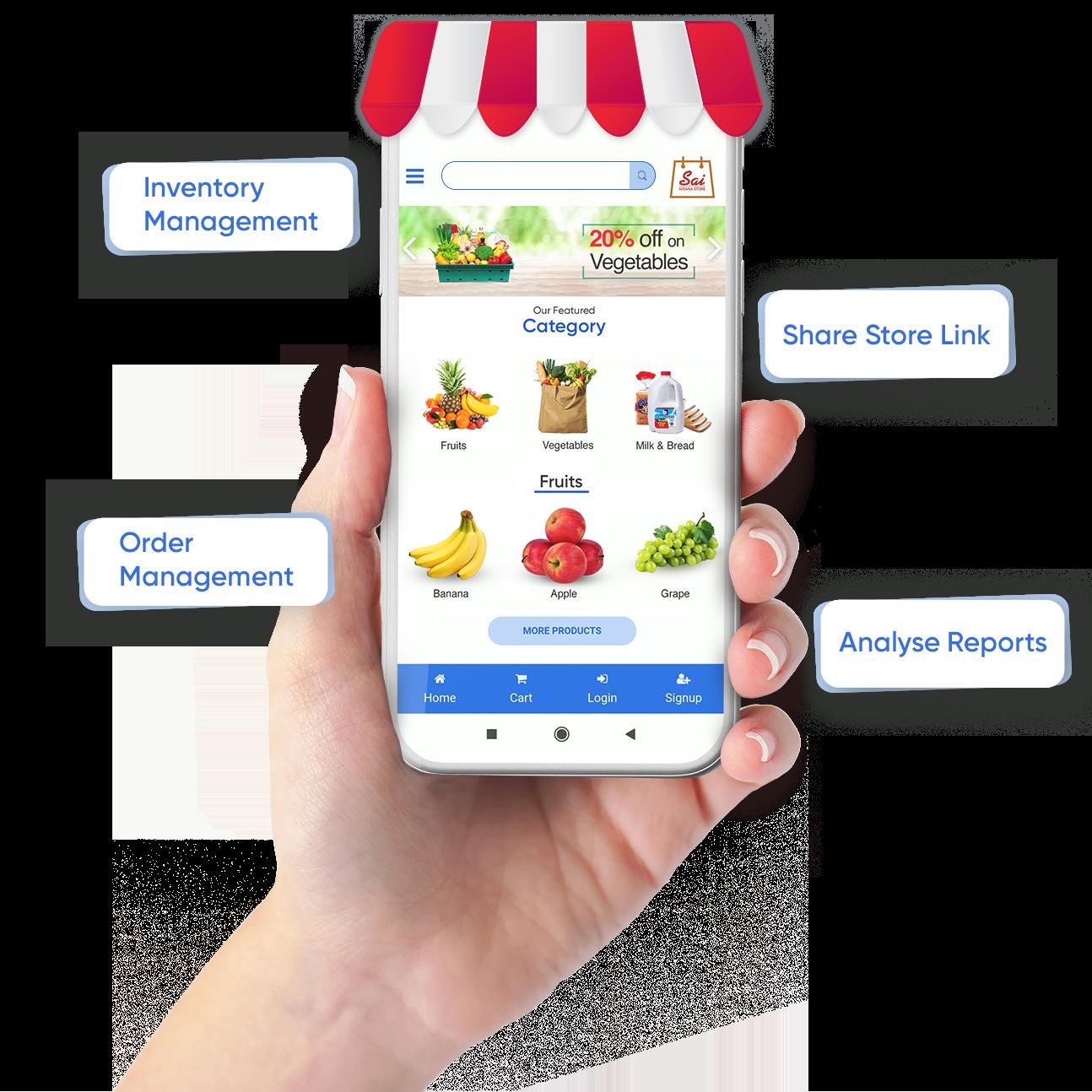 Online Lalaji Ecommerce Store